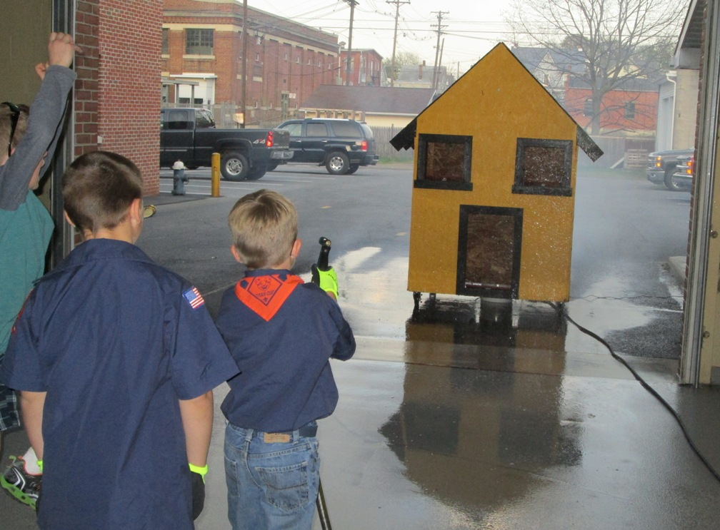 Chambersburg fire department news for Fire safety house