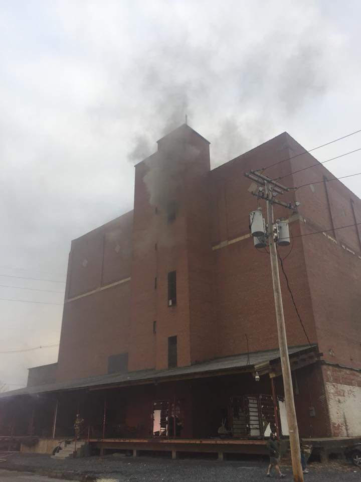 Fire At The Old Cold Storage