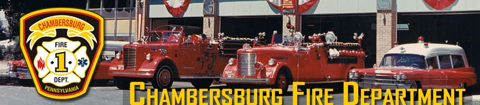 Chambersburg Fire Department - Links